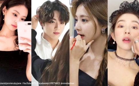BLACKPINKジェニー、BTSジョングク、TWICEツウィ、Red Velvetアイリーン