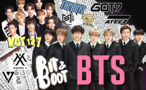 BTS、NCT127