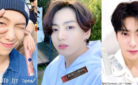左から、BTS RM、BTS ジョングク、NCT ジェヒョン